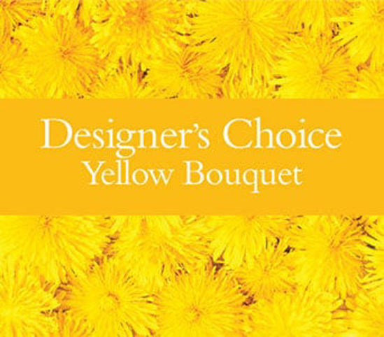 Picture of Designer?s Choice Yellow Bouquet