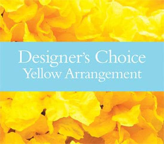 Picture of Designer?s Choice Yellow Arrangement